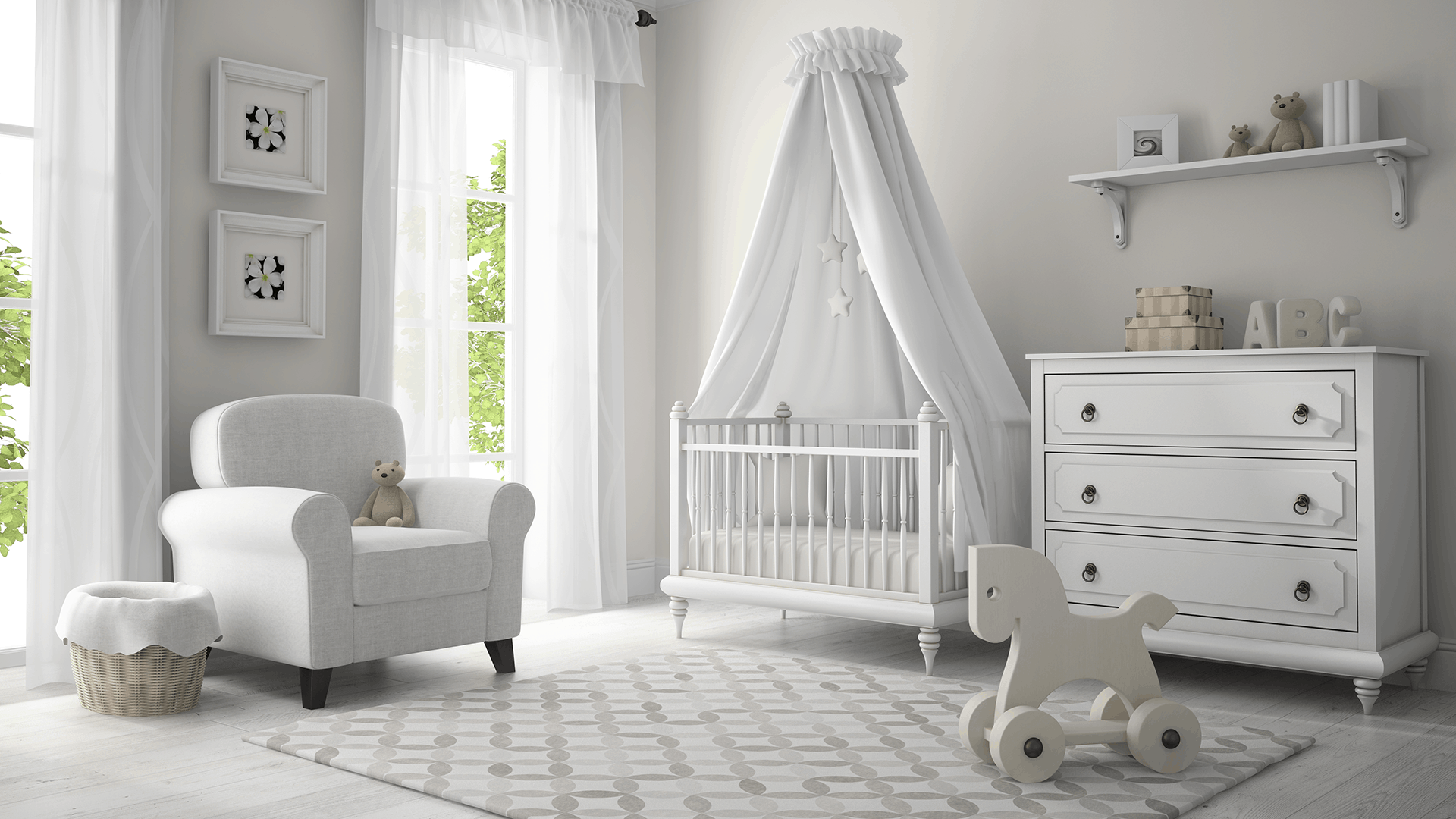 How to Soundproof a Baby Room (Nursery)