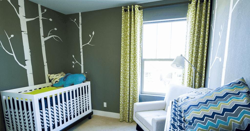 baby room window