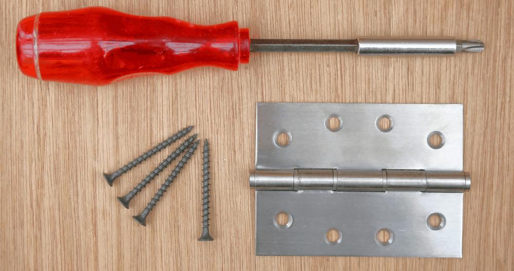 door hinge repair