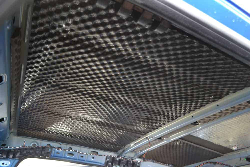 soundproofing vehicle roof